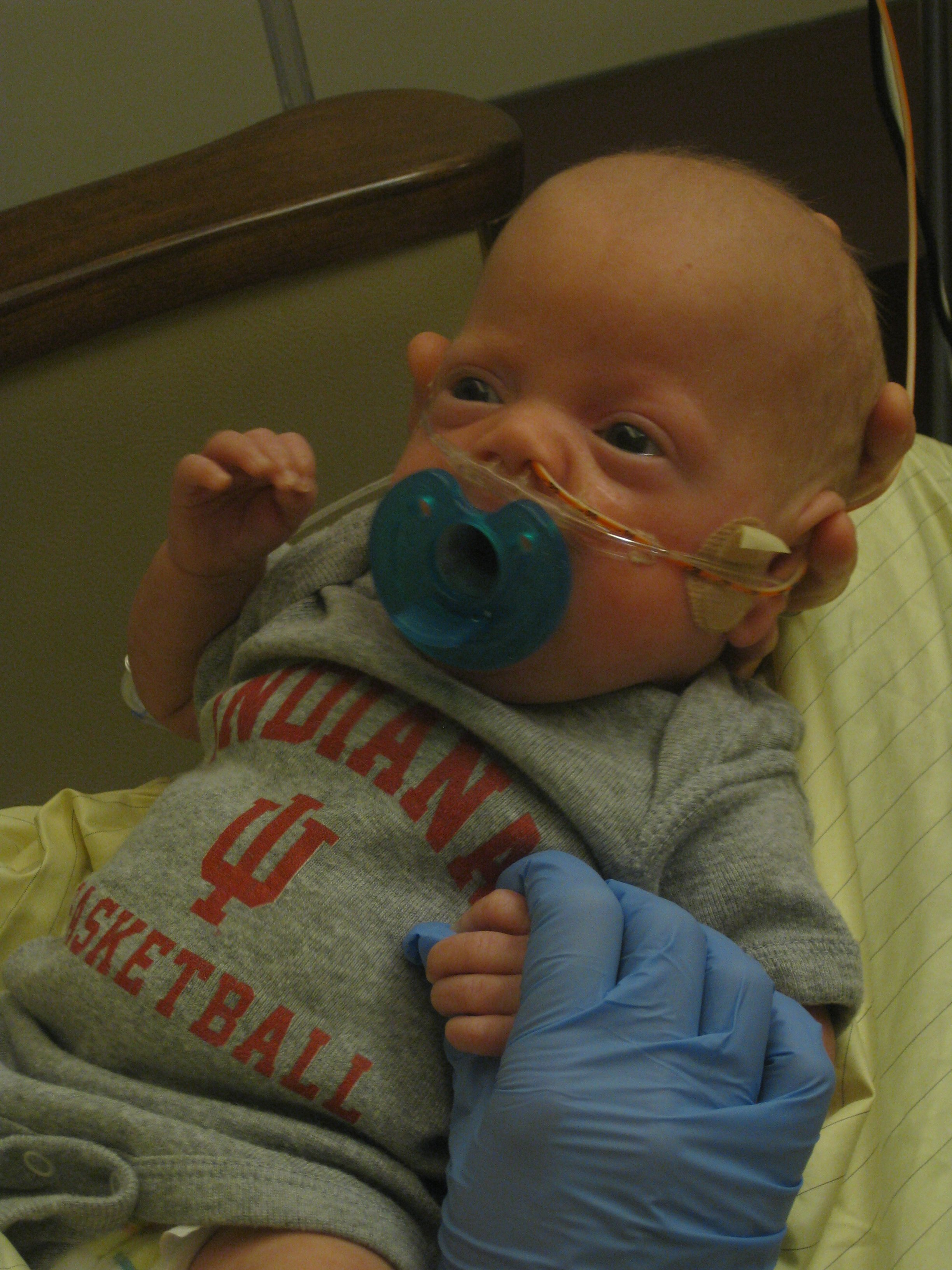 Baby Hoosier Fan!